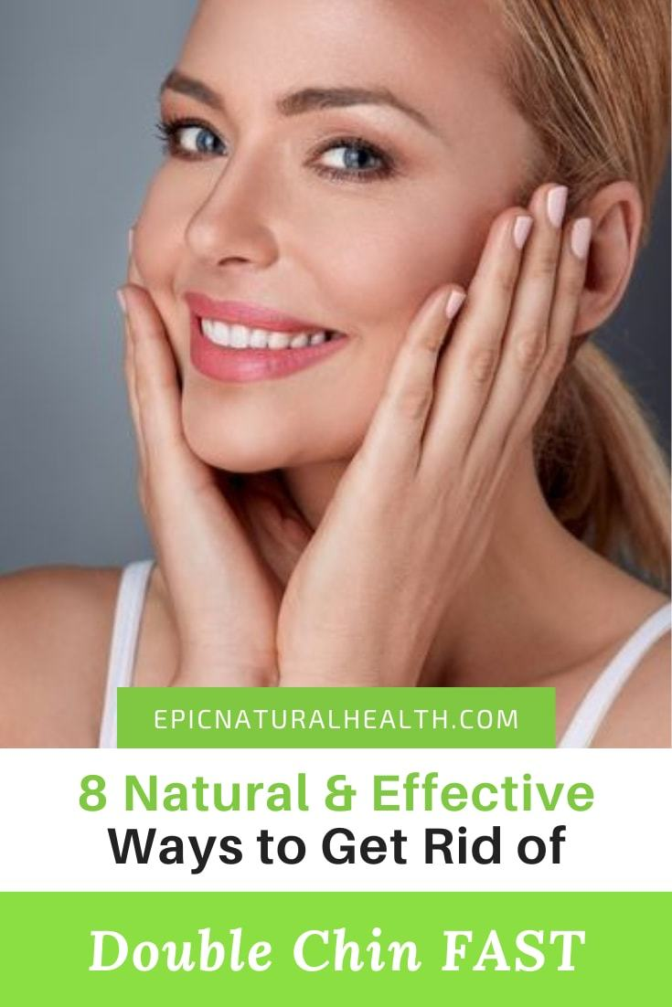Natural and effective ways to get rid of double chin