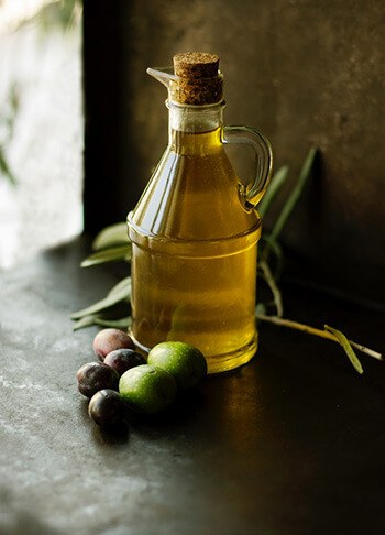 Olive oil can help dislodge and soften earwax