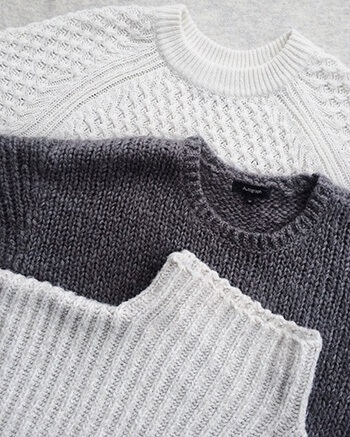 Remove pilling in knitwear using sponge