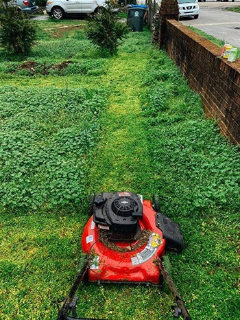 Use your lawn mower to aerate your lawn