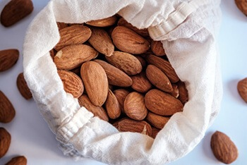 almond is considered to be the king of nuts
