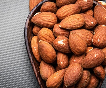 almond oil can help reduce the darkness and hollowness