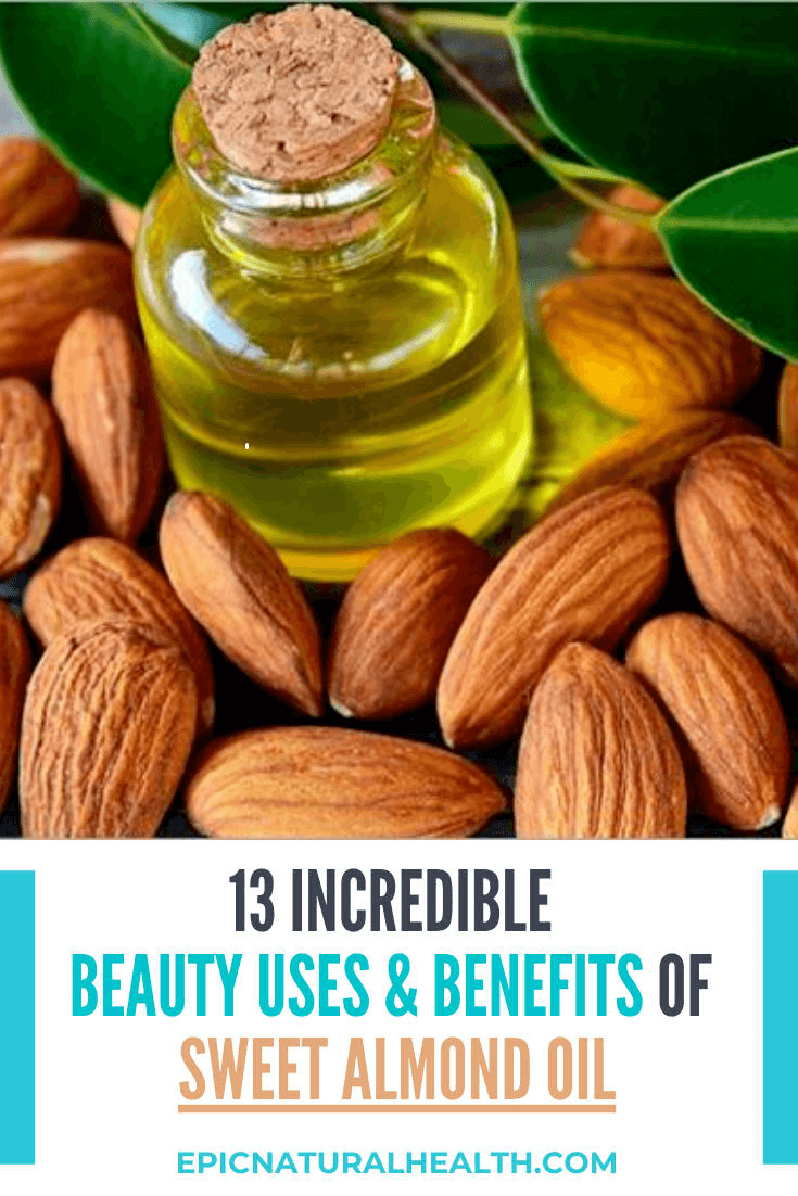 beauty uses and benefits of sweet almond oil