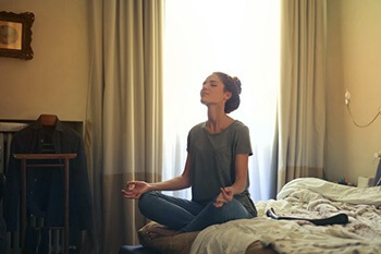 meditate can help reduce stress