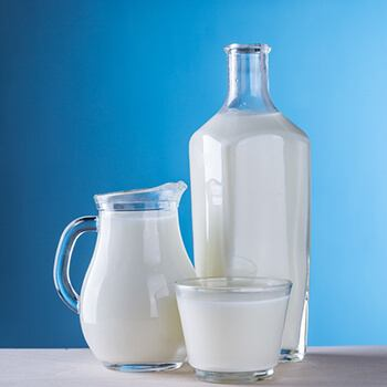 milk prevents the build-up of acid in the stomach