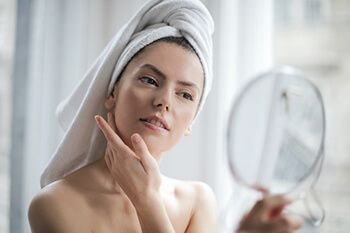 use mixture with tamarind powder and dab on your face