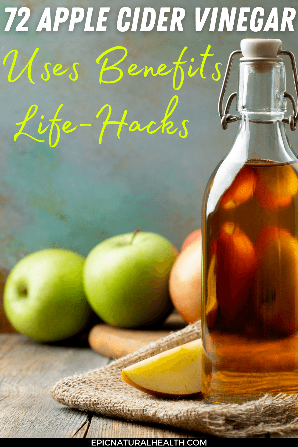 72 apple cider vinegar uses pin