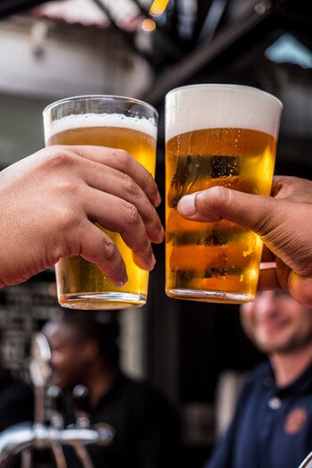 excessive alcohol consumption can irritate the lining of your mouth leading to white tongue