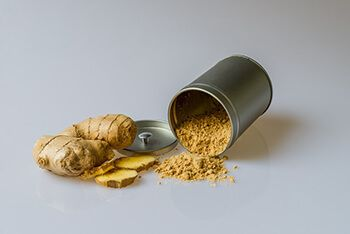 fresh ginger with water to treat dementia and memory loss