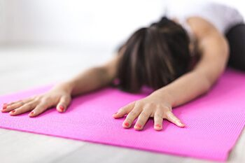 light stretches to help in recovering from glutten ingestion