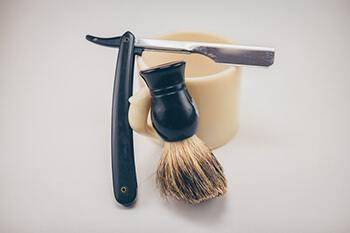 trim your beard properly or go to a professional