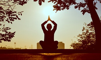 Make healthy changes in your life like meditating