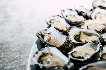 zinc from oysters