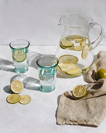 lemon and ginger has antioxidant properties needed for a detox