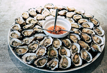 oysters great for balanced diet to keep your hair and scalp