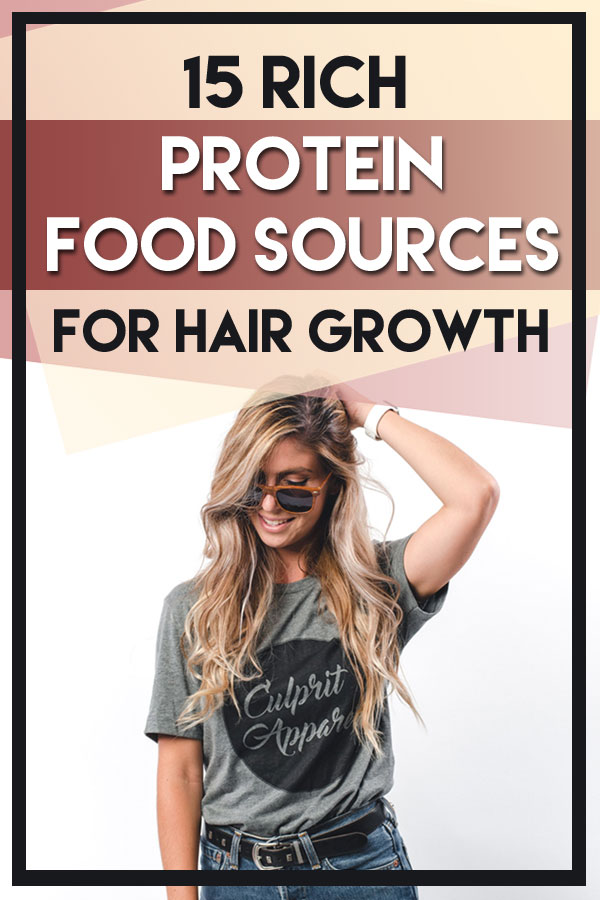 protein food sources for hair growth