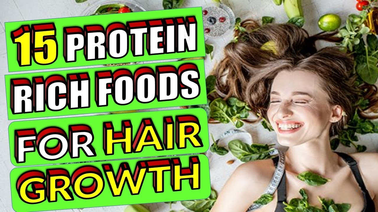 protein rich food for hair growth