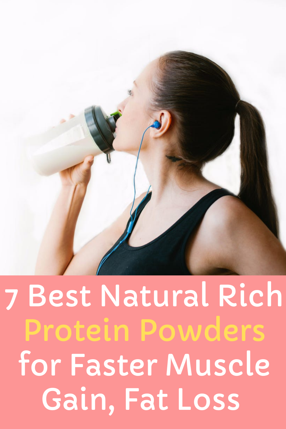 Protein Powders Pin
